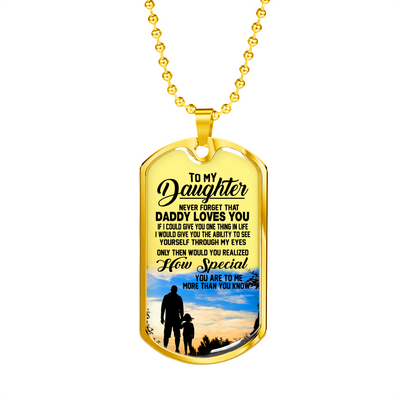 DAUGHTER DAD - HOW SPECIAL (GOLD)