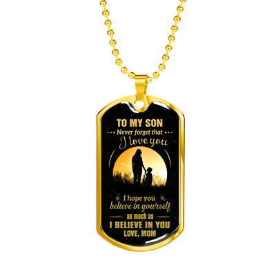 SON MOM - NEVER FORGET (GOLD)