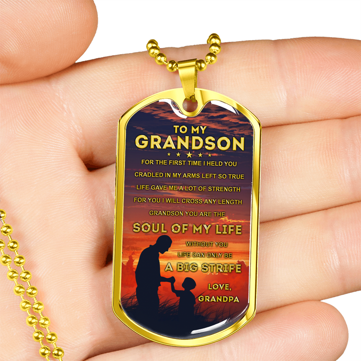 MY GRANDSON - SOUL OF MY LIFE (GOLD)