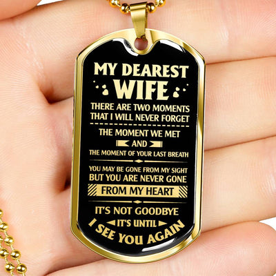 MY DEAREST WIFE - TWO MOMENTS