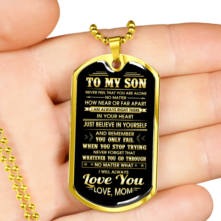 SON MOM - ALWAYS LOVE YOU (GOLD)