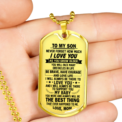 SON MOM - THE BEST THING (GOLD)