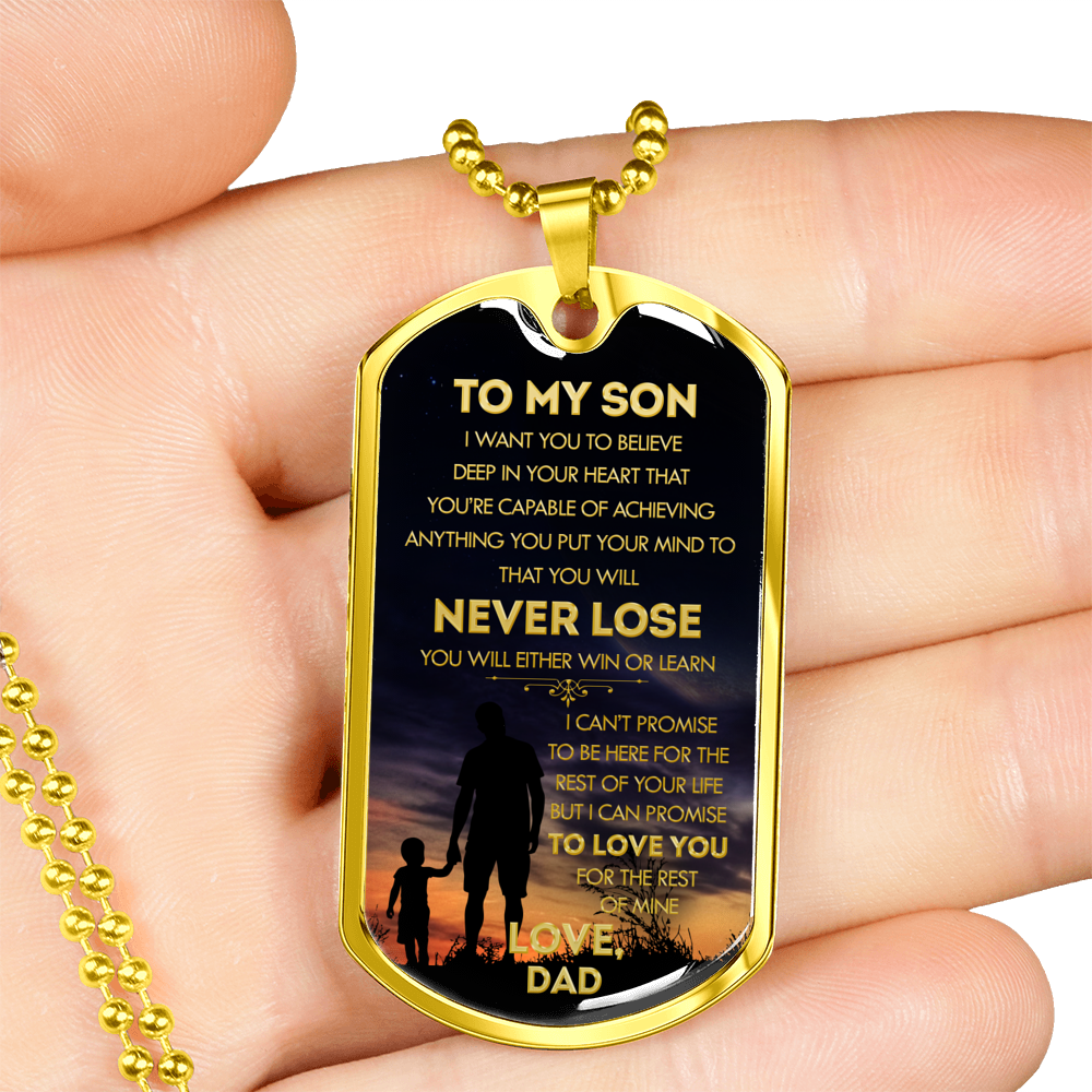 SON DAD - NEVER LOSE (GOLD)
