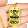 SON MOM - THE BEST THING DOG TAG
