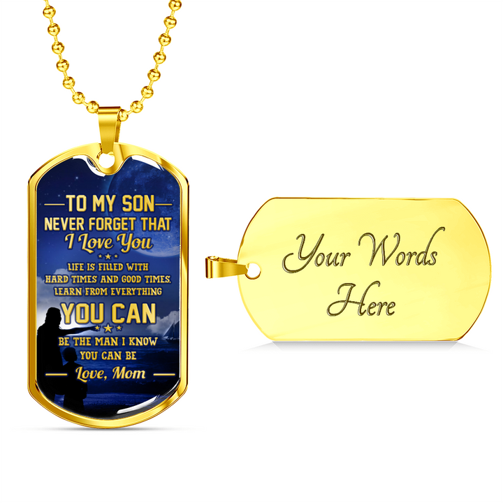 SON MOM - BE THE MAN I KNOW YOU CAN BE (GOLD)