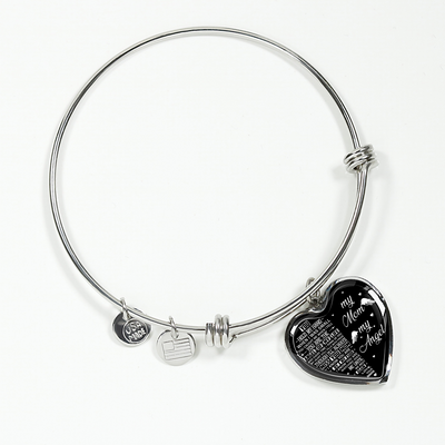 MY MUM MY ANGEL - SILVER VERSION - NECKLACE & BANGLE