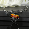 DAUGHTER FATHER - NECKLACE & BANGLE - SILVER VERSION