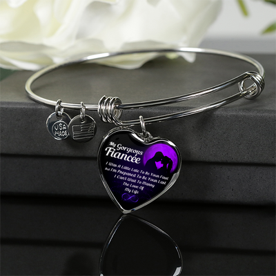 MY GORGEOUS FIANCÉE - SILVER VERION - NECKLACE & BANGLE