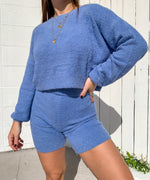Periwinkle Sweater Set