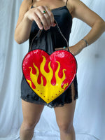 Flamin' Heart Bag