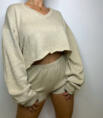 Sand Sweater Set