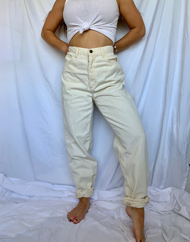 Buttercream Mom Jeans