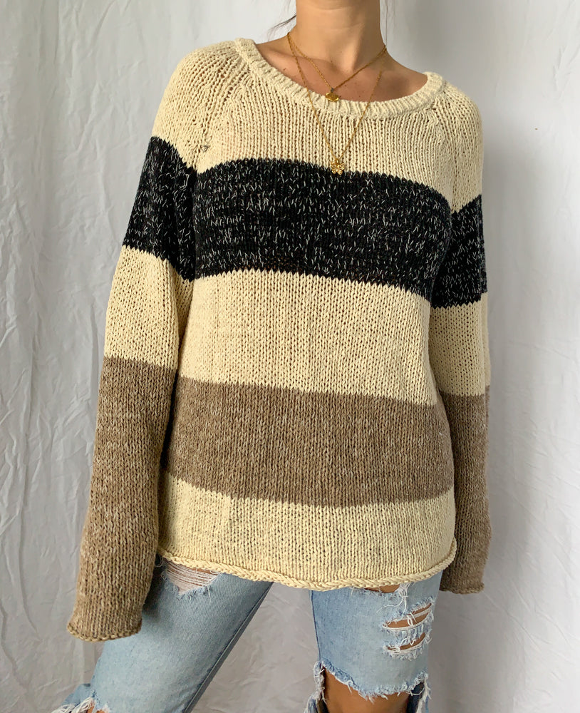 Neutrals Knit Sweater