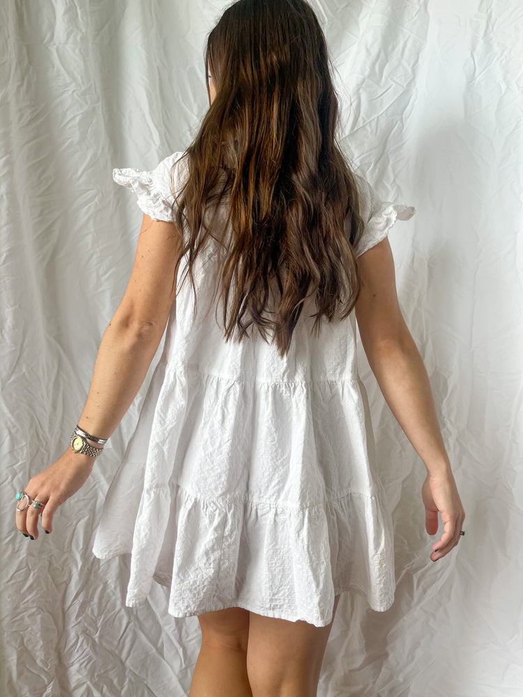 Load image into Gallery viewer, Cotton Babydoll Dress