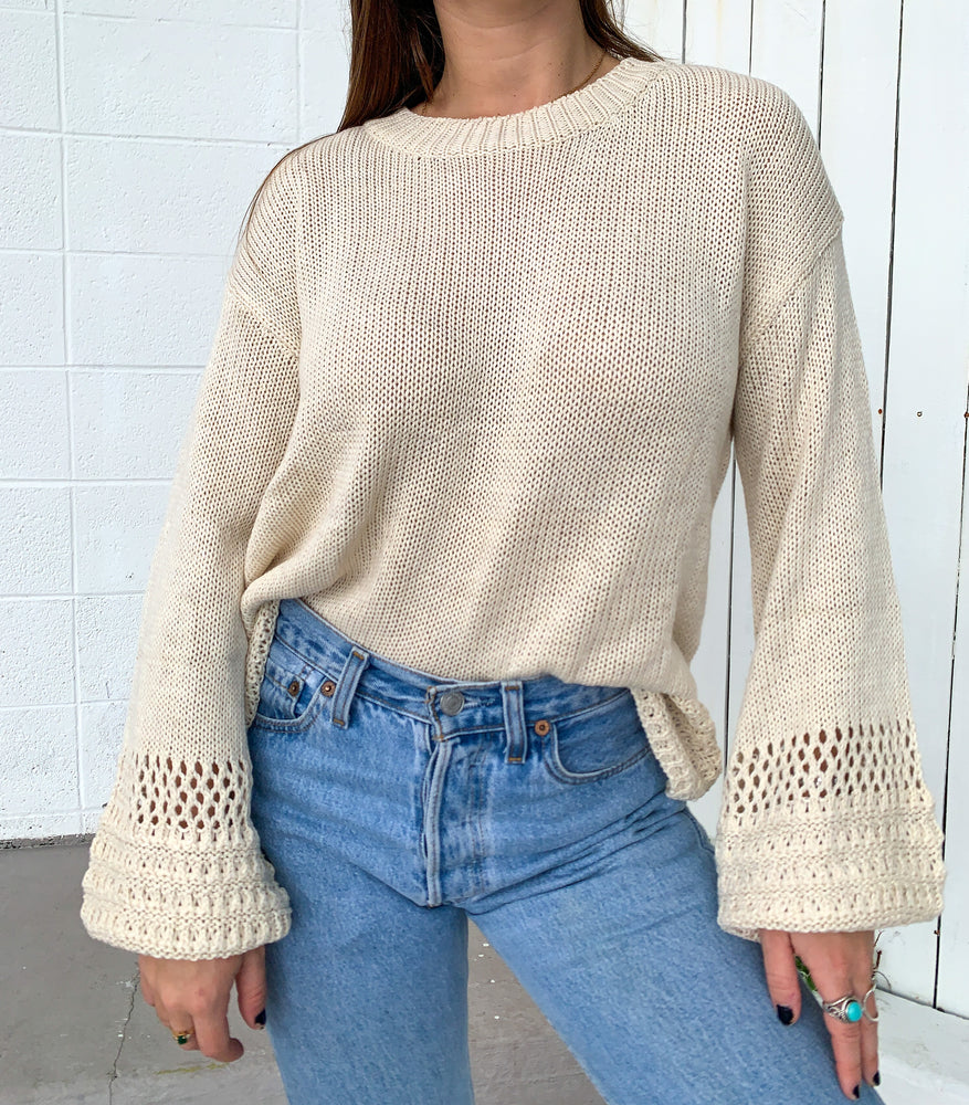 Daybreak Knit Sweater - Cream