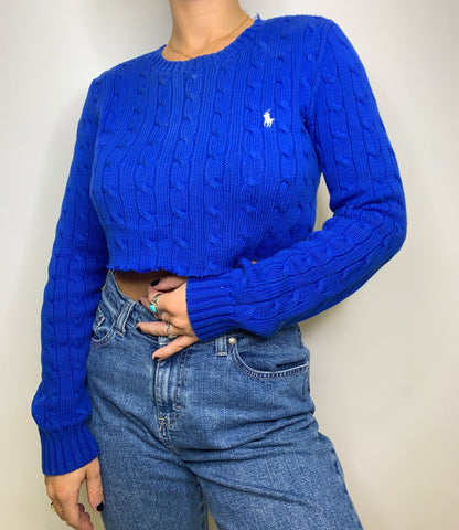 Ralph Lauren Crop Sweater