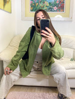 Green Suede Jacket