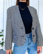 Houndstooth Preppy Jacket