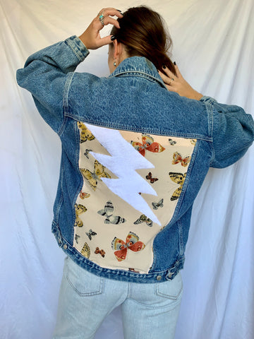 Lightning Vintage Denim Jacket