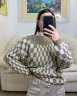 Checkerboard Sweater