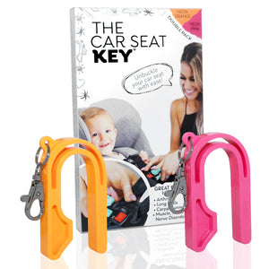 The Car Seat Key (2 Packs)