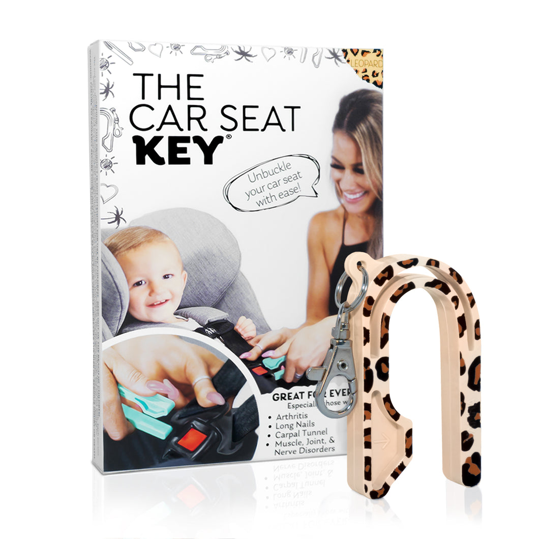 The Car Seat Key Leopard Edition