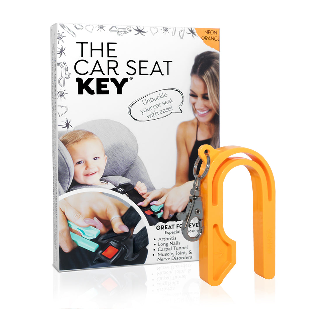 The Car Seat Key Neon Colors