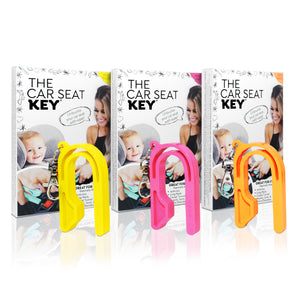 The Car Seat Key Neon Collection Set