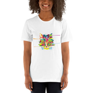 Cat Art Short-Sleeve Unisex T-Shirt