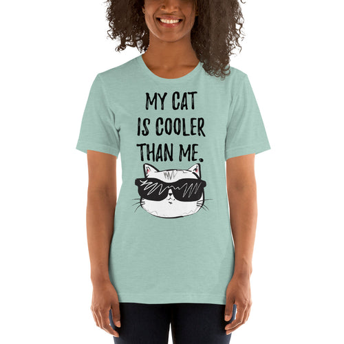 My cat is cooler than me Short-Sleeve Unisex T-Shirt