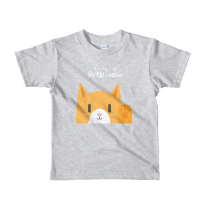 Stay Pawsitive Short sleeve kids t-shirt