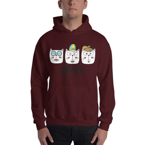 The Meow Team Hooded Sweatshirt
