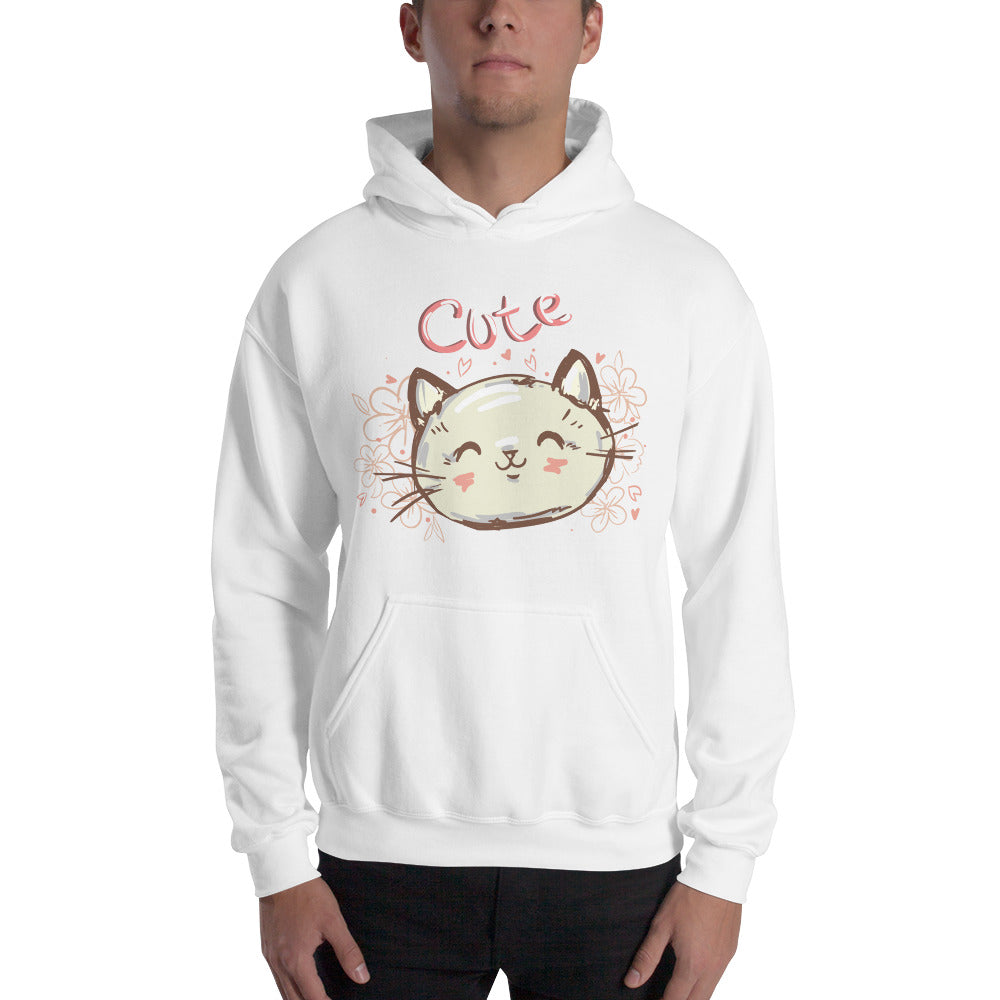 Cute Cat Hooded Sweatshirt