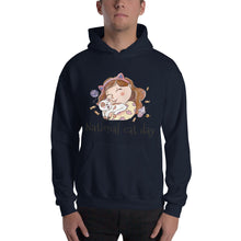 National Cat Day - Black Hooded Sweatshirt