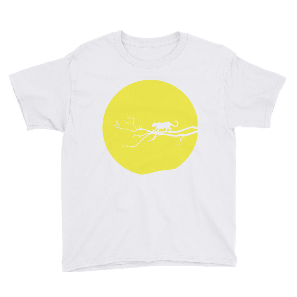 Yellow Jaguar Youth Short Sleeve T-Shirt