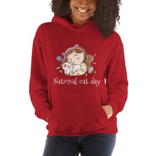 National Cat Day Hooded Sweatshirt
