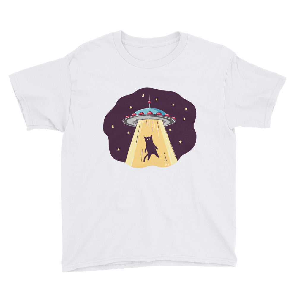 UFO Abduction Youth Short Sleeve T-Shirt