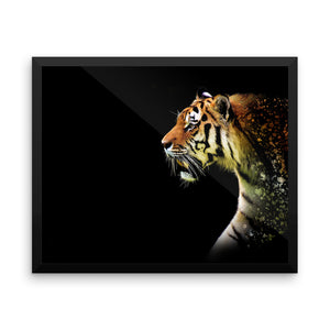 Daddy Kitty Framed Photo Paper Poster