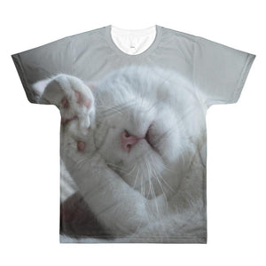 Cat Paw All-Over Printed Unisex T-Shirt