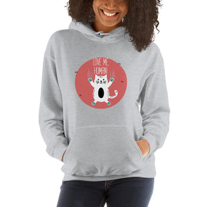 Love Me Human Hooded Sweatshirt