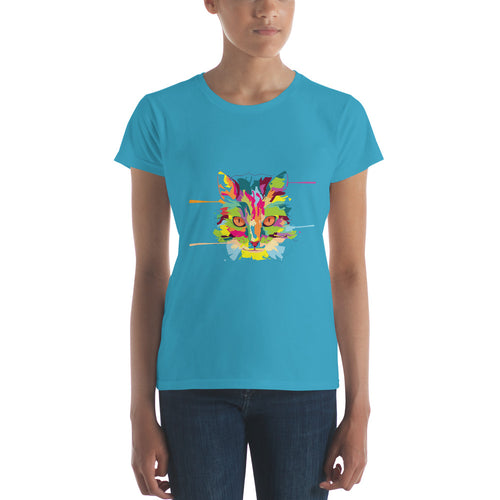 Cat Art Women's short sleeve t-shirt