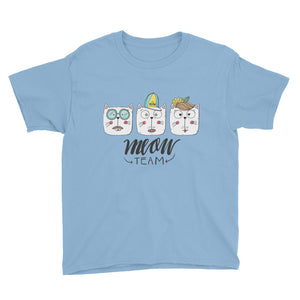 The Meow Team Youth Short Sleeve T-Shirt