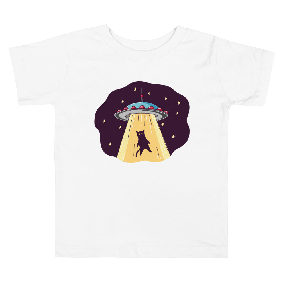 UFO Abduction Toddler Short Sleeve Tee