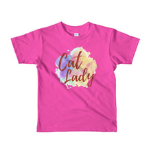 Cat Lady Short sleeve kids t-shirt