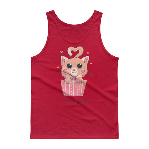 Cat Loves You Tank top