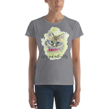Watercolor Cat 2 Women's short sleeve t-shirt