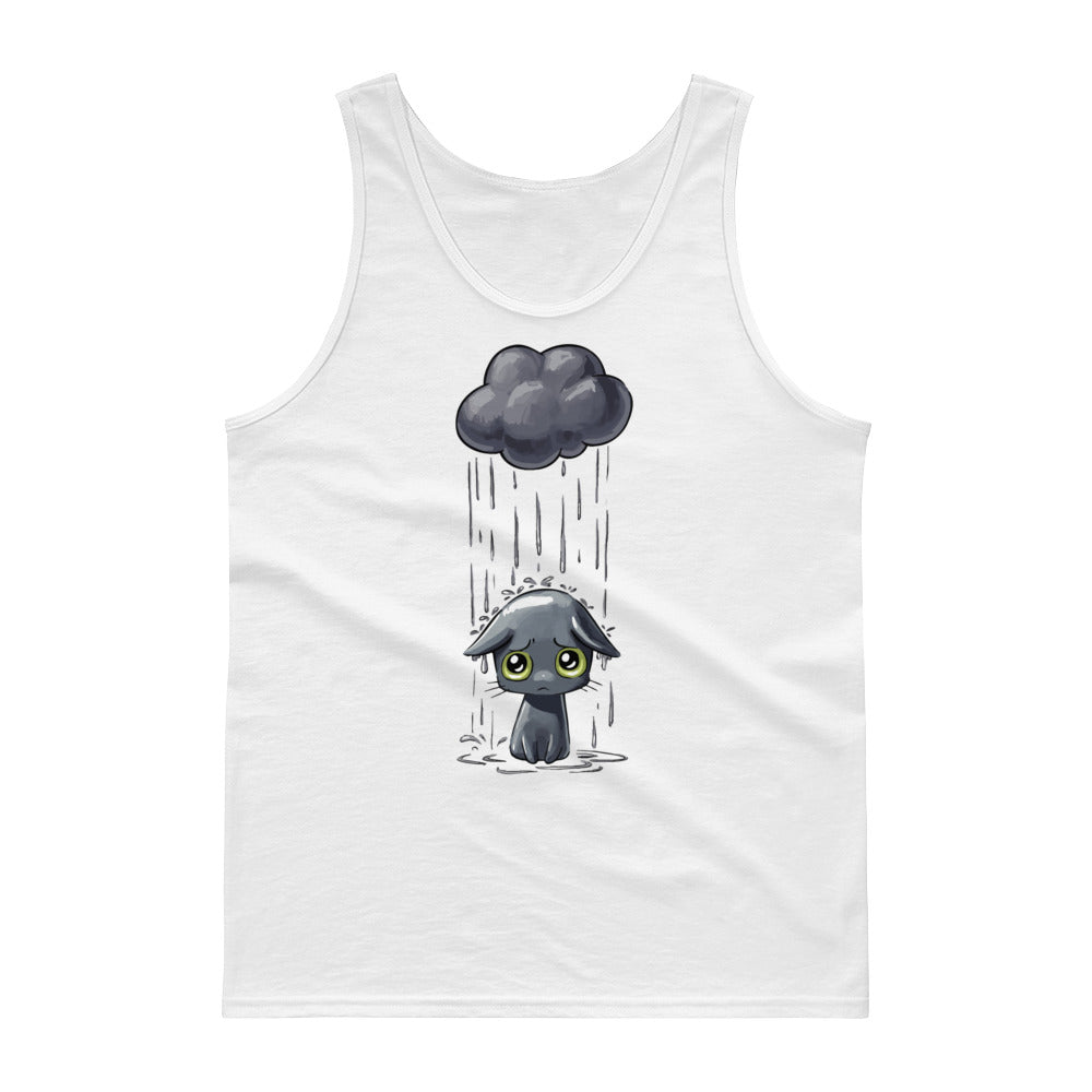 Sad Cat Tank top