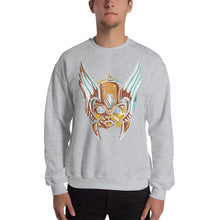 Helmeted Cat Sweatshirt