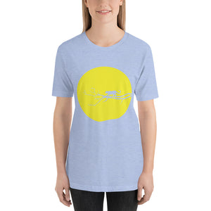 Yellow Jaguar Short-Sleeve Unisex T-Shirt
