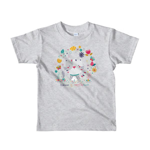Welcome to Meowbourne Short sleeve kids t-shirt